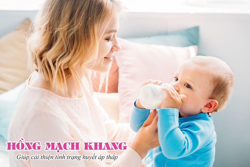 Điều trị huyết áp thấp sau sinh bằng thảo dược là lựa chọn an toàn cho các mẹ